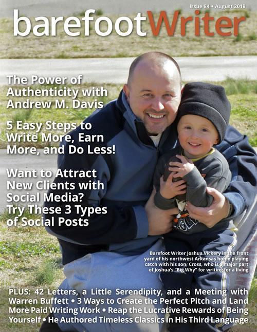 Expert Christian Copywriter Makes Cover of Prestige Magazine for Digital Marketing Success...